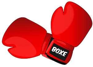 Red Boxing Gloves clipart