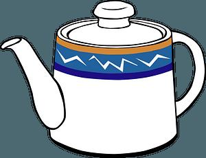 Fast Food, Drinks, Tea, Pot clipart
