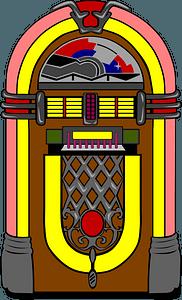 Fifties Jukebox clipart