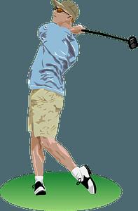 Golf Drive clipart