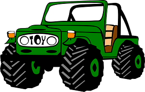 Toyota Land Cruiser clipart