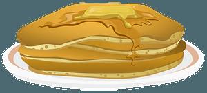 Glitch Simplified Buttermilk Pancakes clipart