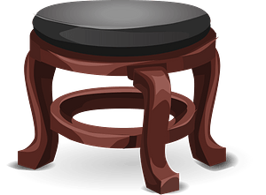 Glitch Simplified Nice Stool clipart