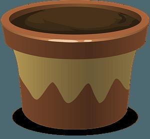 Glitch Simplified Plant Pot clipart