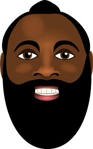 James Harden clipart