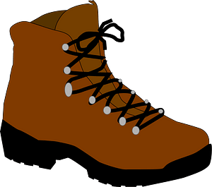 Hiking Boot clipart