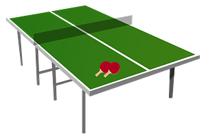 Ping Pong Table clipart