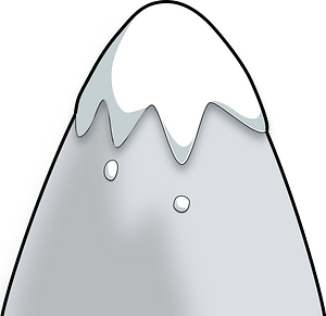 Snow-capped Mountain clipart