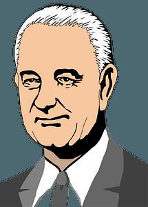 Lyndon B Johnson clipart
