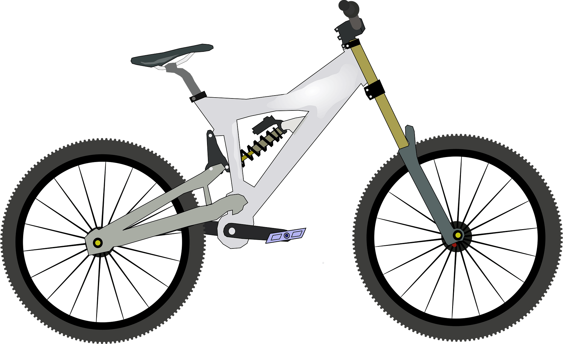 White Bike Clipart Free Download Transparent Png Creazilla