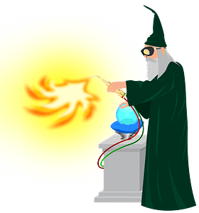 Wizard clipart