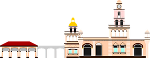 Masjid Muhammadi Kota Bharu clipart