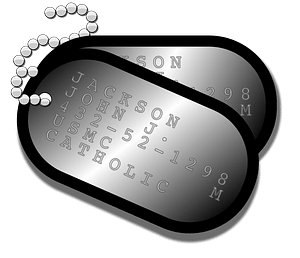 Dog Tags clipart