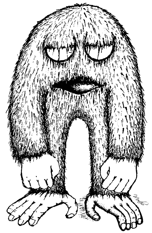 Monster Black And White Clipart Free Download Transparent Png Creazilla