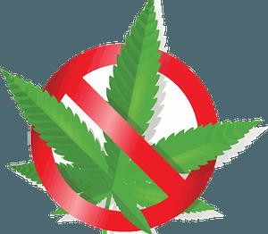 No Cannabis clipart