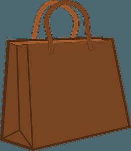 Paper Shopping Bag clipart