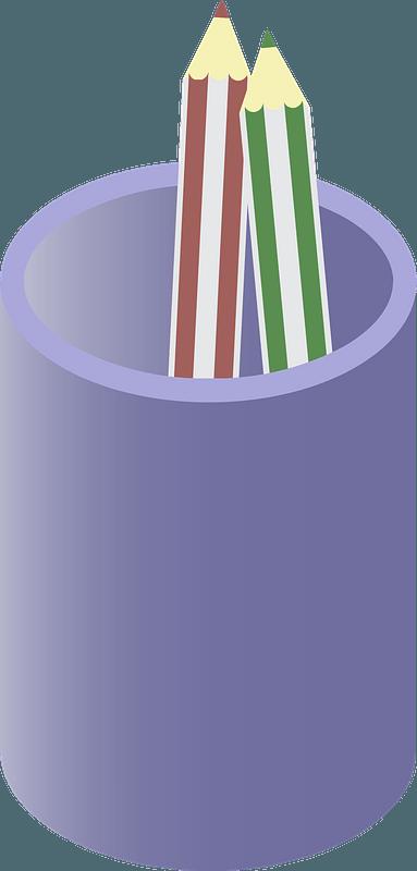 Pencil Cup clipart
