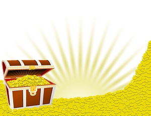 Pile of Treasure clipart