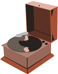 Phonograph Player clipart