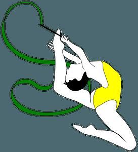 Rhythmic Gymnastics Tournament - Brazil clipart