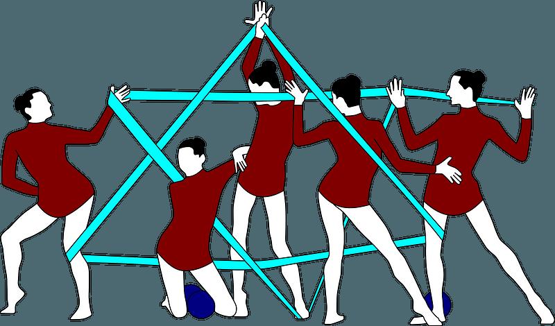 Rhythmic Gymnastics Whole Set of Rhythmic clipart