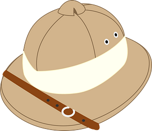 Safari Hat clipart