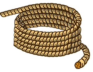 Coiled Rope clipart