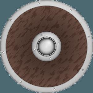 Classic Viking Shield clipart