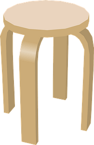 Stool clipart