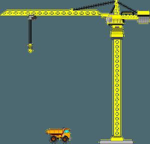 Tower Crane clipart