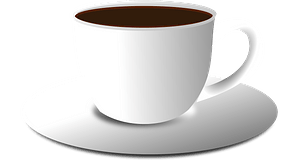 Tea Cup and Saucer clipart