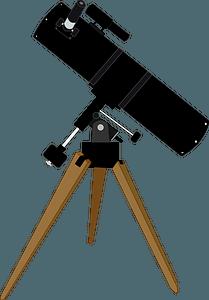 Reflector Telescope clipart