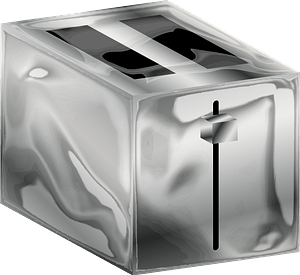 Metal Toaster clipart