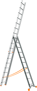 Triple Ladder clipart