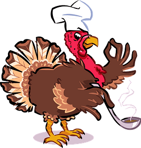 Turkey Chef clipart
