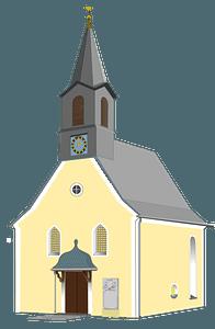 Village Church clipart