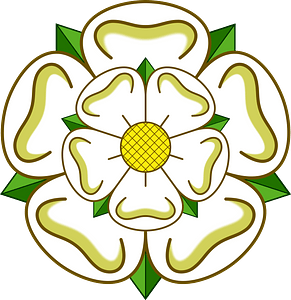 White Yorkshire Rose clipart