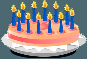 Anniversary Cake immagine clipart