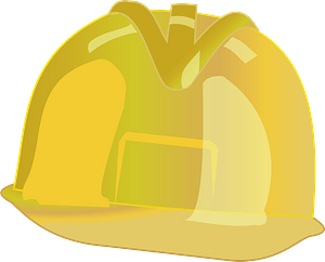 Yellow Hard Hat clipart