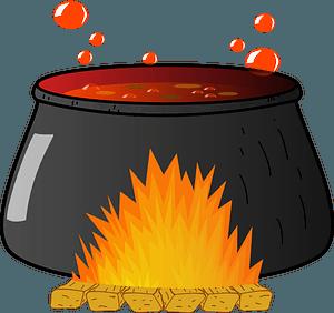 Bubbling Cauldron clipart
