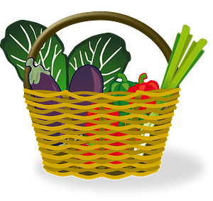 Full Shopping Basket clipart
