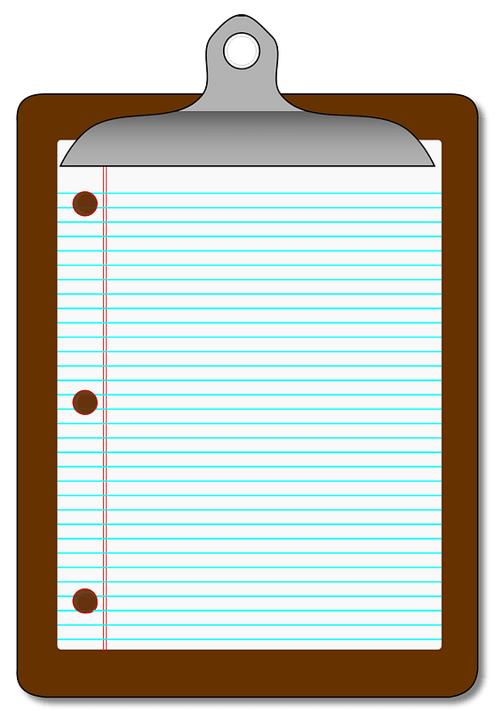 Clipboard with Paper clipart. Free download transparent .PNG | Creazilla
