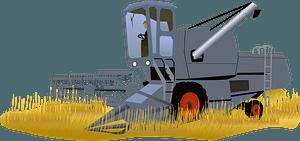 Harvester clipart