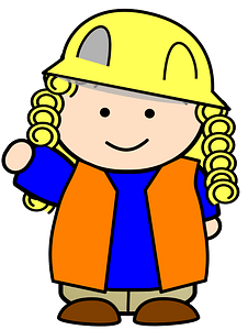 Construction Girl clipart