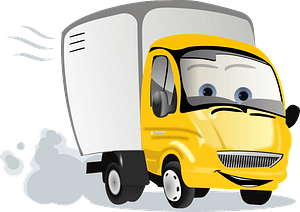 Cartoon Truck clipart