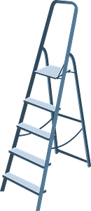 Step Ladder clipart