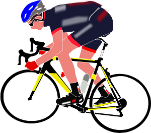 Cyclist Boy clipart