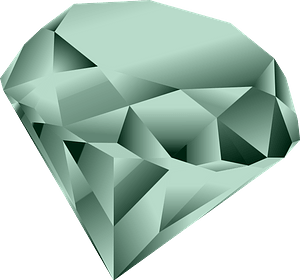 Green Diamond clipart