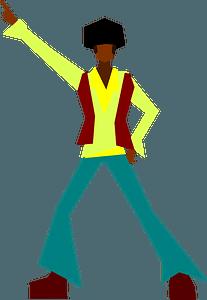 Disko Man clipart