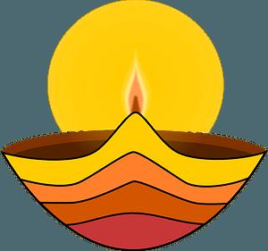Diwali Lamp clipart